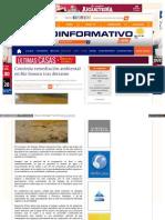 20-11-14 Continúa remediación ambiental en Río Sonora tras derrame