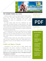 Newsletter Igreja Janeiro-março (Teste)