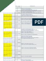 Calendario Académico EE 2010