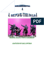 Beyond the Pale- Border Reivers Wargaming