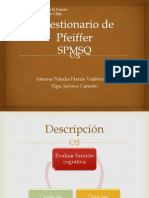 Cuestionario de Pfeiffer (SPMSQ)