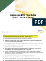 Instructivo Para Instalación de Flexi Edge y Multirradio V6