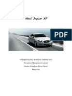 Calitatea Jaguar XF