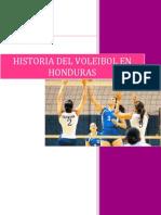 Historia Del Volleyball en Honduras