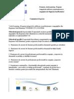 ActivLearning -Program integrat de calificare şi perfecţionare a angajaţilor din Regiunea Sud-Muntenia POSDRU/35/3.2/G/19166