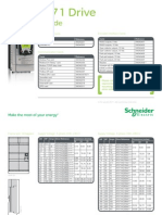 Schneider Electric - ATV71 Quick Selection Guide