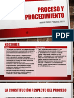 Proceso y Procedimiento - UNC