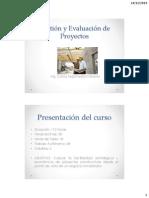 Gestión y Evaluación de Proyectos_u1