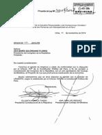 PL N° 4007-2014-PE - Proyecto de Ley que promueve la reactivación de la economía