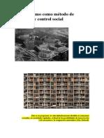 Urbanismo Como Metodo de Exclusión y Control Social