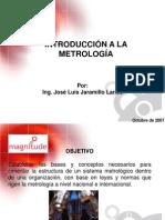 Fundamentos de La Metrologia
