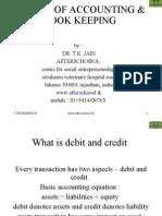 Basics of Accounting & Book Keeping