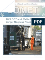 Comet Winter 2014 Newsletter