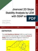 SSAP Software for Advanced LEM Analysis
