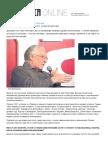 Alen Badju - Kapitalizam Je Bolest Covecanstva, Nov. 2014. Politika