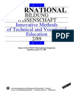 Innovative Methods of Technical and Vocational Education 89