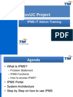 IPMS ITAdmin Training v1.3
