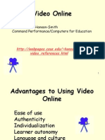 Video Online Fall 2008