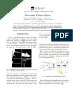 Microscopia de Força Atómica AFM