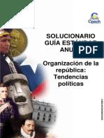 Solucionario Guía Práctica Organización de La República Tendencias Políticas 2013