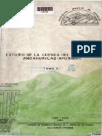 RIO CHUMBAO ESTUDIO CALIDAD DE AGUA