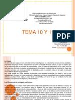 Trabajo de Elementos Del Delito Tema 10 y 11