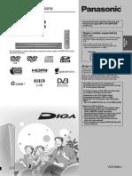 Panasonic DVD Recorder Manuel