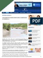 10-11-14 FIDEICOMISO RÍO SONORA BENEFICIARÁ A COMUNIDADES DE HERMOSILLO