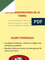 LAS REPRESENTACIONES DE LA TIERRA.ppt