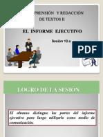 10a El Informe Ejecutivo
