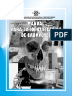 AA. VV - Manual Para La Identificación de Cadáveres