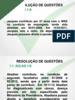 Inss 2014/2015 Tecnico Direito e Legislacao Previdenciaria 01 a 08 Slides