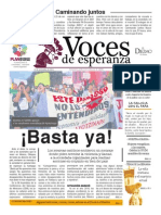 Voces de Esperanza 23 de Noviembre de 2014