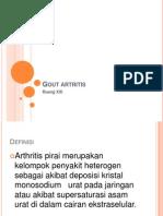 atritis gout