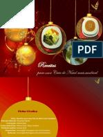 E-book Receitas Para Uma Ceia de Natal Mais Saudável APN