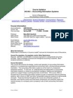 UT Dallas Syllabus for aim6343.0g1.08s taught by Mary Beth Goodrich (goodrich)