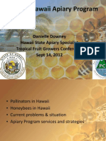 2012 Hawaii Apiary Program