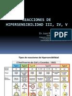Reacciones de Hipersensibilidad III, IV, V_USMP_Chic_2013