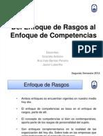 Modelo Rasgos vs Competencias 2014