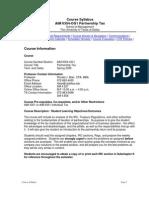 UT Dallas Syllabus for aim6354.0g1.08s taught by Ronald Blair (rblair)