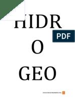 Trabajo de Hidrogeologia Completo