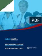 Manitoba Renal Program - Winnipeg Regional Health Authority