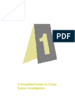 Simplified Guide Crime Scene Investigation
