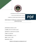 Informe Bioseguridad y Control de Calidad en El Area de Coprologia