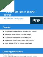 aplng 589 project presentation