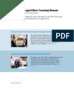 Philippine Legal Ethics Teaching Manual