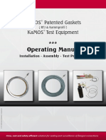 2014-1 KaMOS Gasket & Test Equipment - Operating Manual