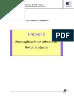 Hojas de Calculo Excel 2007