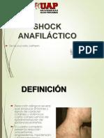 Primeros Auxilios Exposicion Shock Anafilactico