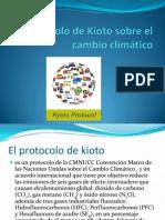 Protocolo de Kioto Sobre El Cambio Climático